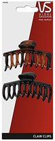 Vidal Sassoon Large Barrel Claw Clips, 2 Count