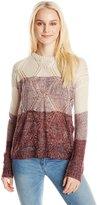 Blu Pepper Women's Colorblock Stripe Sweater