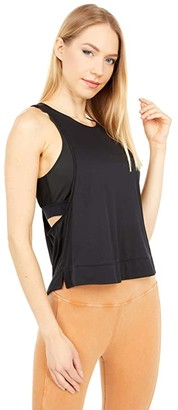 FP Movement Rise and Run Cami (Black) Women's Clothing