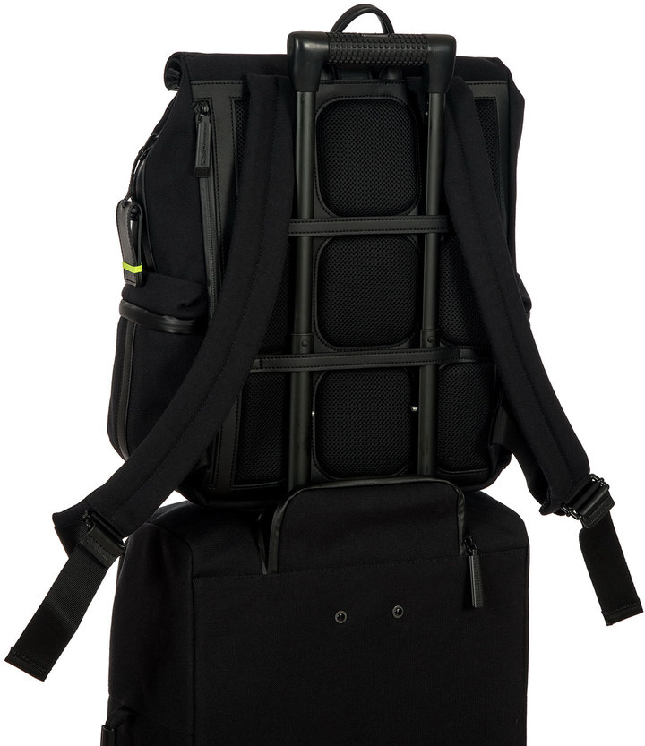 Bric's Moleskine by Roll-Top Backpack