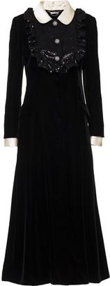 Miu Miu Sequin-Embellished Coat