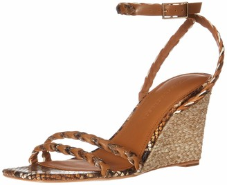 Sigerson Morrison Women's Ankle Strap Wedge Sandal