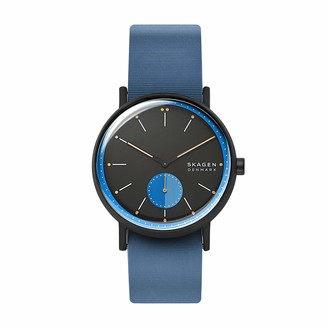 Skagen Men's Signatur Quartz Watch with Silicone Strap