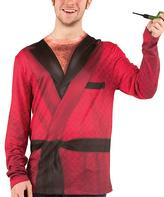Red Smoking Jacket Tee - Men's Regular