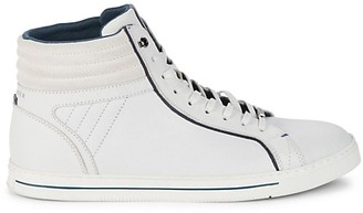Ted Baker Glyburt Leather High-Top Sneakers