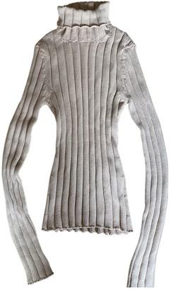 Dolce & Gabbana Beige Cotton Knitwear for Women