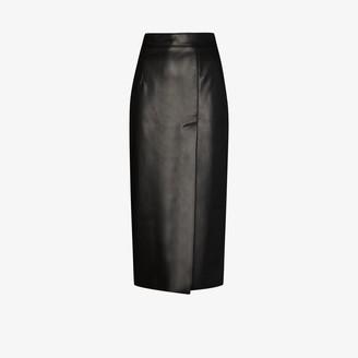 ALEKSANDRE AKHALKATSISHVILI High-Waisted Pencil Midi Skirt