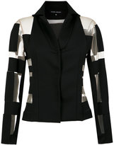 Gloria Coelho panelled blazer