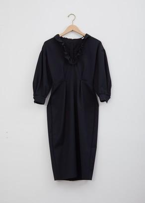 Wales Bonner Lydia Frill Collar Dress