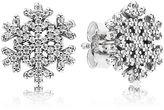 Pandora Snowflake Stud Earrings - Sterling Silver