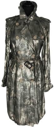 3.1 Phillip Lim Green Silk Trench coats