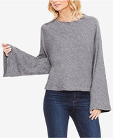 Vince Camuto Cotton Bell-Sleeve Top