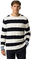 Tommy Hilfiger Custom Fit Bold Stripe Crewneck
