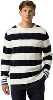Tommy Hilfiger Custom Fit Bold Stripe Crewneck