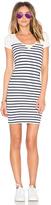 G Star G-Star Short Sleeve Stripe Dress