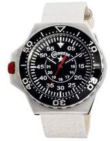 Converse Foxtrot Culture Black Dial White Leather Unisex Watch VR-008-150