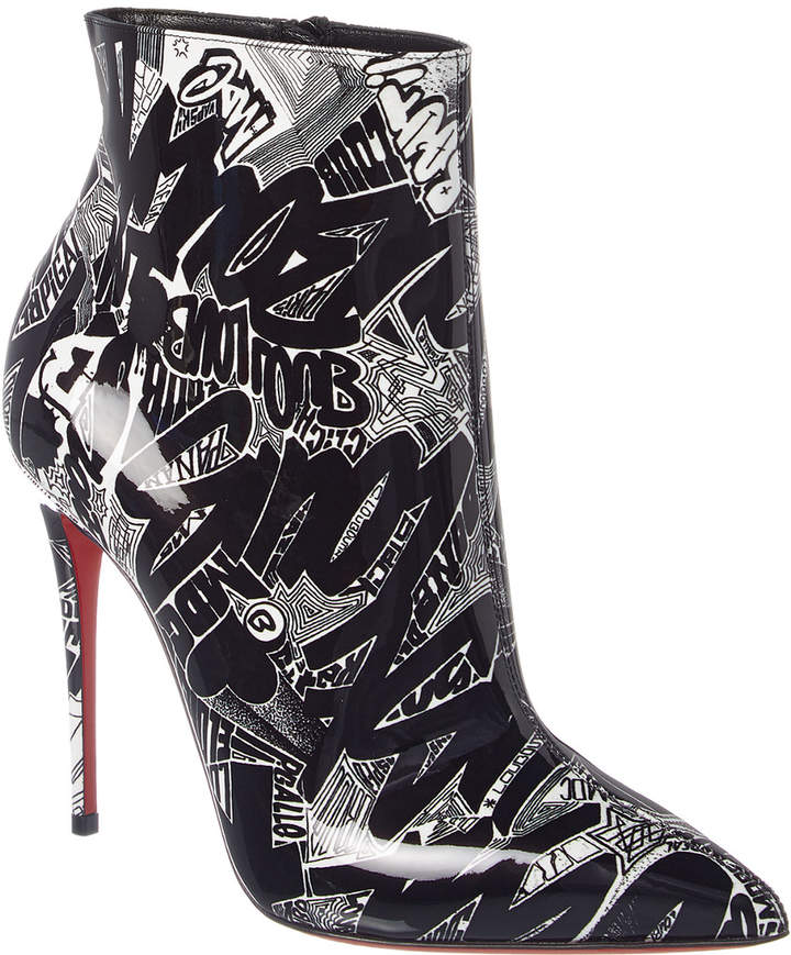 8c00be4ad7a So Kate 100 Graffiti Patent Bootie