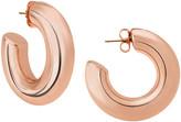 Janis Savitt Oprah's Favorite High Polish Medium Hoop Earrings - Rose Gold