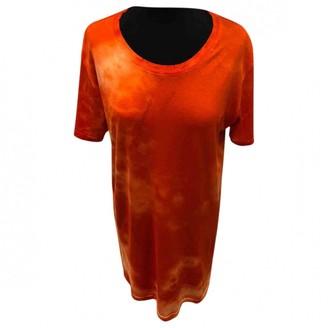 Balmain Orange Cotton Top for Women