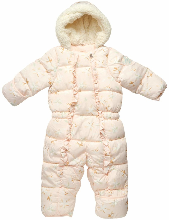Thumbnail for your product : Jessica Simpson Baby Girls Snowsuit Pram with Polar Fleece Lining (Newborn/Infant) - pink - 24 Months