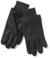 Gap Wool leather tech gloves