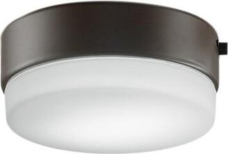 "Fanimation Zonix Wet 8"" H x 10"" W Glass Bowl Ceiling Fan Fitter Shade Finish: Oil-Rubbed Bronze"