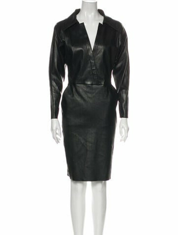 Thumbnail for your product : Jitrois Lesley Knee-Length Dress w/ Tags Black