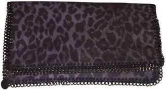 Stella McCartney Stella Mc Cartney Falabella Grey Polyester Clutch bags