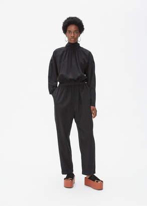 Black Crane Tulip Jumpsuit