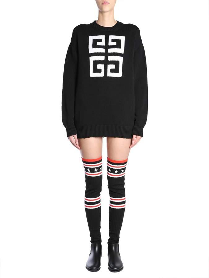 Givenchy 4g Round Collar Jumper