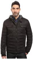 Buffalo David Bitton Zip Front Twill Jacket with Hood