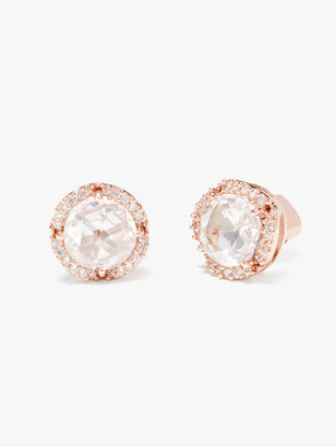 Kate Spade That Sparkle Pave Round Large Studs