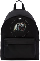 Givenchy Black Monkey Brothers Backpack