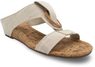 Sugar Stazie Women's Demi-Wedge Cork Sandals
