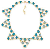 Carolee Bayou Blues Dramatic Collar Necklace