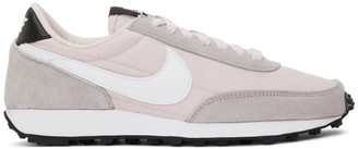 Nike Pink and Grey Daybreak Sneakers