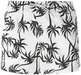Dondup palm tree print swim shorts - men - Nylon/Polyamide - XL