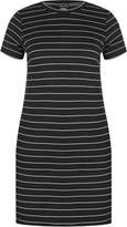 City Chic Jersey Stripe Dress