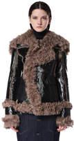 Diesel Black Gold DieselTM Leather jackets BGGFV - Black - 40