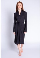 Thumbnail for your product : PJ Salvage Textured Lounge Solid Robe, Black X-Large