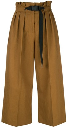 Kenzo Cropped High Waisted Trousers