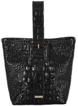 Brahmin Faith Melbourne Embossed Leather Bucket Bag
