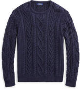 Ralph Lauren The Iconic Fisherman's Sweater