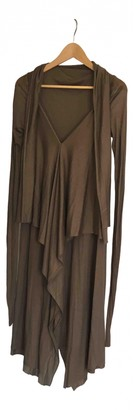 Rick Owens Lilies Brown Viscose Dresses