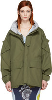 Junya Watanabe Khaki Triple Layer Jacket