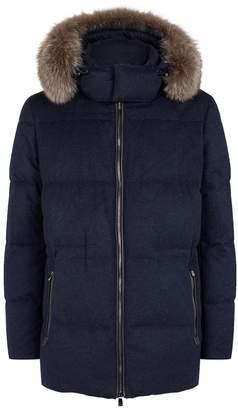Corneliani Cashmere Down Jacket