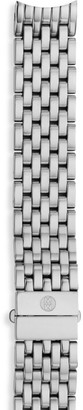 Michele Serein 16 Stainless Steel Seven-Link Watch Bracelet/16MM