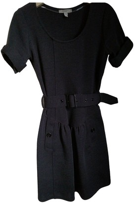 Burberry Anthracite Wool Dresses