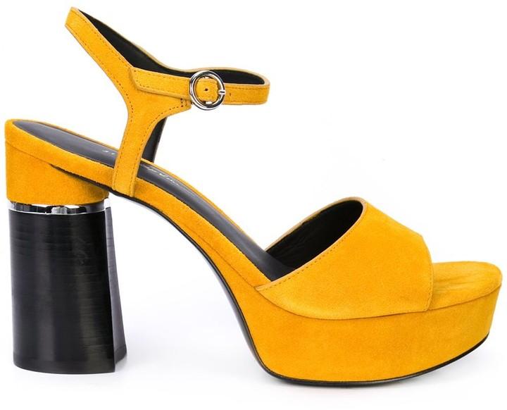 3.1 Phillip Lim Ziggy Suede Platform Sandal