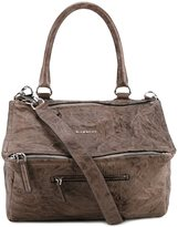 Givenchy medium Pandora tote - women - Cotton/Sheep Skin/Shearling - One Size